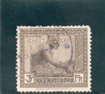 CONGO BELGE 1923 O - Congo Belge