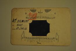 Petite Photo Radio Dentaire Ancienne 1944  Dentiste Objet Rare De Curiosité - Other