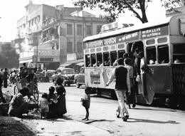 Photo Inde Calcutta Scènes De Rues Avec Ramasseurs De Cendres Photo Vivant Univers - Lugares
