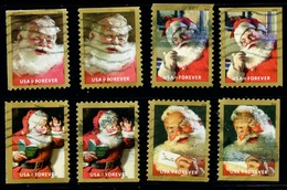 Etats-Unis / United States (Scott No.5332-35 - Santa Claus) (o) All Positions - Etats-Unis