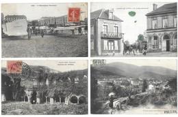 Lot De 400 Cartes/France/Etranger/Fantaisies...Format CPA - Cartes Postales