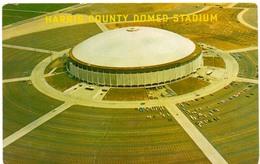 Postcard Stadium Houston Texas USA Riverfront Stadion Stadio - Estadio - Stade - Sports - Football Baseball - Stadi