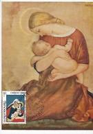 Luxembourg  -   CARITAS 1980  -  Maria Von Paul Rosner - Maximum Cards
