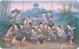 THAIPIN108 : PIN45 50u Thai Art Painting USED - Thaïlande