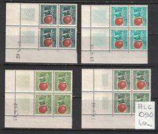 Algerie - Algeria - Yvert Préo20-23 En Coins Datés - MNH Plate Blocks Scott#307-310 - Algérie (1962-...)