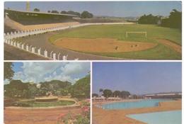 Postcard Stadium Sao Joao Da Boa Vista Brazil Stadion Stadio Estadio - Stade - Sports - Football  Soccer - Calcio