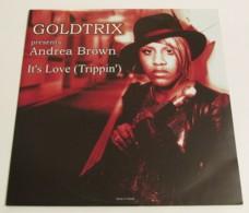 Maxi 33T GOLDTRIX Presents ANDREA BROWN : It's Love - Dance, Techno & House