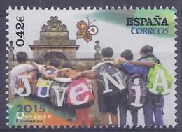 Spain 2015. Juvenia. Ed: 4961 Mnh(**) - 1931-Hoy: 2ª República - ... Juan Carlos I