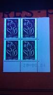 VARIÉTÉS 2004 N° 3723 DEUX BARRE PHOSPHORESCENTES COINS DATÉE 20.10.04 MARIANNE DE LAMOUCHE NEUF ** GOMME - Dated Corners