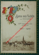 Bond Der Natiën Van Antwerpen 1872-1922 - Handelsbeurs - Menus