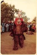 BURKINA FASO Masque De Rejouissance 18(scan Recto-verso) MA198 - Burkina Faso