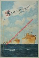 Robert Ley - Kraft Durch Freude - 6. Juli 1939 - Menus