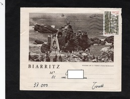 LSC 1976 - Enveloppe Illustrée  BIARRITZ - Cachet BAYONNE - Marcofilia (sobres)
