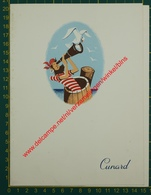 Cunard - R.M.S. Queen Elizabeth - 1958 - Menu - Menus