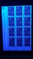 VARIÉTÉS 2006 N° 3740 II UNE BARRE PHOSPHORESCENTES COINS DATÉE TD 205 13 / 10 / 06 MARIANNE DE LAMOUCHE NEUF ** GOMME - Dated Corners