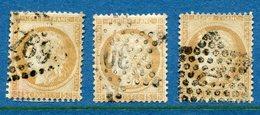 France - YT N° 55 - Oblitéré Gros Chiffres - 1873 - 1871-1875 Cérès