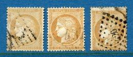 France - YT N° 59 - Oblitéré Gros Chiffres - 1871 - 1871-1875 Cérès