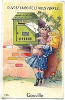 Ouvrez La Boite Et Vous Verrez... GOUVILLE - CARTE A SYSTEME - Non Classés