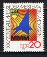 DDR - 1982 - ESPOSIZIONE DEI GIOVANI INVENTORI A LIPSIA - MNH - [6] Repubblica Democratica