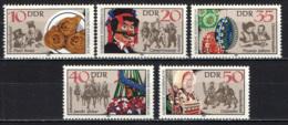DDR - 1982 - COSTUMI POPOLARI DEL LAUSITZ - MNH - [6] Repubblica Democratica