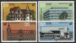 DDR - 1982 -  EDIFICI POSTALI - MNH - [6] Repubblica Democratica