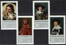 DDR - 1980 - QUADRI DI FRANS HALS - MNH - [6] Repubblica Democratica