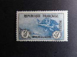 FRANCE Semi-moderne Orphelins 5F + 5F  N° 155 Cote 2100 €  Neuf Avec Trace De Charnière MNH - Unused Stamps