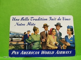 Calendrier, Pan American Word Airways 1947 - Calendriers