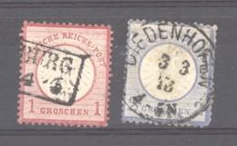 GRX 651  -  Allemagne  -  Reich  :  Mi  19-20  (o) - Gebruikt