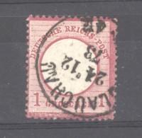 GRX 652  -  Allemagne  -  Reich  :  Mi  19  (o)  Obl. Glauchau - Gebruikt