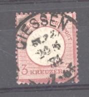 GRX 659  -  Allemagne  -  Reich  :  Mi  25  (o) Obl  Giessen - Gebruikt