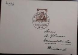O) 1935 CIRCA - GERMANY. EAST PRUSSIA - COSTUMES, FROM HAMBURG, XF - Germany