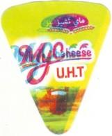 """Algérie - 1 étiquette De  Fromage Fondu """" Mt Cheese"""" Avec Défaut D'impression. - Fromage"""
