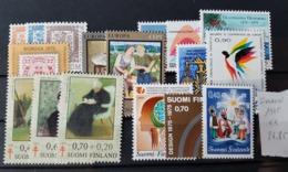 FINLANDE / YT Année Complète 1975 / NEUFS ** / MNH / COTE : 24.85 € - Unused Stamps