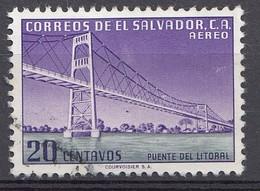 El Salvador 1954  Mi.nr: 754  Courvoisier... Oblitérés - Used - Gebruikt - El Salvador