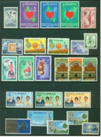 "-Philippines-1954, Etc.""Mint Lot"" - Philippines"