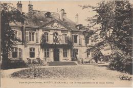 Cpa ( 54 Meurthe-et-moselle) Maxeville , Le Chateau Du Grand Sauvoy - Maxeville