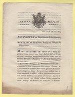 Prefet De La Manche - 18 Juin 1806 - Fonctions Entre Garde Champetre Et Gendarmerie - Documenti Storici