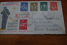 3-1422 Pays Bas Nederland To France Bois Colombes Music Musique Noel Christmas Saint Martin - Musique