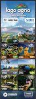 """Ecuador 2019 ** Carnet 8 Sellos """"Lago Agrio, Tierra De Colores"""". Fauna Y Flora. Paisajes. - Ecuador"""