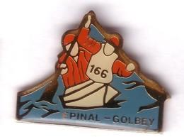 C07 Pin's CANOË KAYAK CLUB ÉPINAL GOLBEY VOSGES Achat Immédiat - Canoa