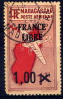 MDG - A52° - CARTE / FRANCE LIBRE - Luftpost