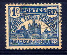 MDG - T16° - PALAIS ROYAL DE TANANARIVE - Madagascar (1889-1960)