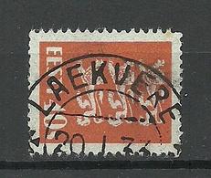 Estland Estonia 1933 O LAEKVERE Michel 84 - Estland
