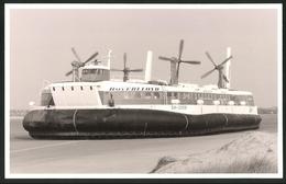 Fotografie Hovercraft Luftkissenfahrzeug, Hoverlloyd-Fähre Ramsgate - Calais - Schiffe
