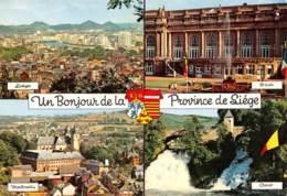 CPM - Un Bonjour De La Province De LIEGE (Liège, Spa, Malmédy, Coo) - Liege