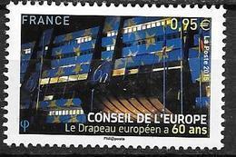 France 2015 Service N° 163 Neuf Conseil De L'Europe à La Faciale + 10% - Service
