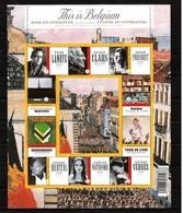 Blok 175** This Is Belgium. Boek En Literatuur. Livre Et Littérature 3970/79** MNH - Blocks & Sheetlets 1962-....