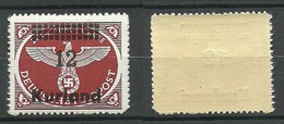 KURLAND German Occupation 1945 Michel 4 B MNH - Lettland