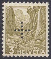 HELVETIA - SUISSE - SVIZZERA - 1937- Servizio Yvert 132 Nuovo MNH. - Service